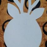 шаблон грунтованный А028 - 60 грн/шт. оленёнок (35 см)