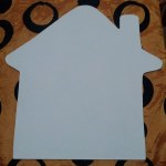 шаблон грунтованный А027 - 60 грн/шт. домик (35 см)