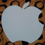 шаблон грунтованный А025 - 60 грн/шт. яблоко (35 см)
