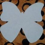 шаблон грунтованный А023 - 60 грн/шт. бабочка (35 см)