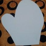 шаблон грунтованный А0120 - 50 грн/шт. руковичка (35 см)