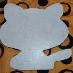 шаблон грунтованный А009 - 60 грн/шт (35 см)